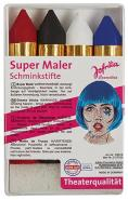 4 Schminkstifte Super Maler
